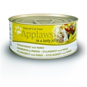 Консервы APPLAWS для Кошек с Курицей и Манго в желе (Cat Jelly Chicken/Mango)
