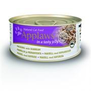 Консервы APPLAWS для Кошек со Скумбрией и Морским окунем в желе (Cat Jelly Mackerel/Seabream)