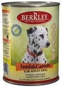 Консервы Berkley для Собак с ягненком и морковью (Adult Lamb Carrots), 400 г.