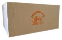 Пеленки Пелигрин Доброзверики для домашних животных 60х40 200 шт (коробка)