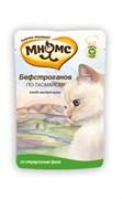 """Паучи МНЯМС для кошек с мясом страуса """"Бефстроганов по-тасмански"""" 85 г"""