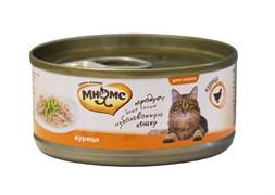 Консервы Мнямс для кошек Курица в нежном желе 70 г