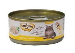 Консервы Мнямс для кошек Курица с Сыром в нежном желе 70 г