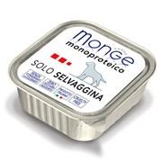 Паштет Monge Monoproteico Solo для собак с дичью