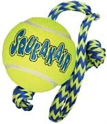 """Игрушка для собак KONG AIR """"Теннисный мяч"""" с канатом 2,5 см"""