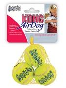 """Игрушка для собак KONG AIR """"Теннисный мяч"""" 4 см (3 шт)"""