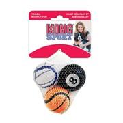 """Игрушка для собак KONG AIR SPORT """"Теннисный мяч"""" 4 см (3 шт)"""