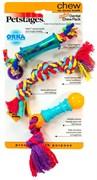 Набор из трех игрушек для собак PETSTAGES