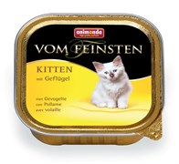 Консервы для котят Animonda Vom Feinsten Kitten с домашней птицей