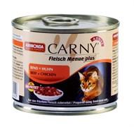 Консервы для кошек Animonda CARNY Adult с говядиной и курицей