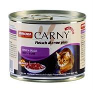 Консервы для кошек Animonda CARNY Adult с говядиной и ягненком