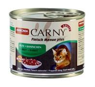 Консервы для кошек Animonda CARNY Adult с говядиной, индейкой и кроликом