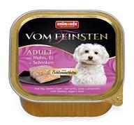 Консервы для собак Animonda Vom Feinsten Adult с курицей, яйцом и ветчиной