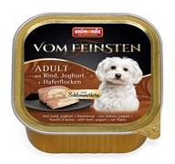 Консервы для собак Animonda Vom Feinsten Adult с говядиной, йогуртом и овсяными хлопьями