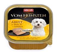 Консервы для собак Animonda Vom Feinsten Adult с говядиной, яйцом и ветчиной
