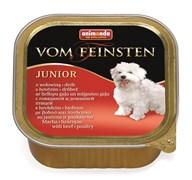 Консервы для щенков Animonda Vom Feinsten Junior с говядиной и мясом домашней птицы