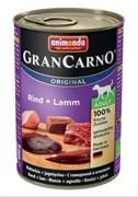 Консервы для собак Animonda GranCarno Original Adult с говядиной и ягненком
