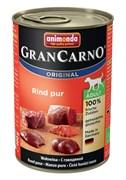 Консервы для собак Animonda GranCarno Original Adult с говядиной