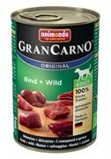 Консервы для собак Animonda GranCarno Original Adult с говядиной и дичью