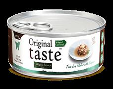 Консервы для кошек Pettric Original Taste Филе тунца с белым окунем в соусе