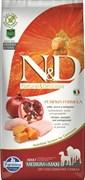 Беззерновой корм Farmina ND Курица с гранатом и тыквой для взрослых собак средних и крупных пород