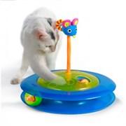 Игрушка Petstages для кошек Трек с двумя мячиками