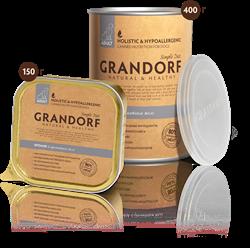 Консервы GRANDORF для взрослых собак всех пород с кроликом - фото 10084