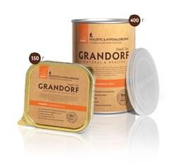 Консервы GRANDORF для взрослых собак всех пород с индейкой - фото 10100