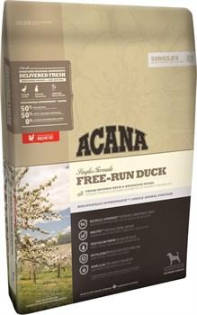 Беззерновой сухой корм ACANA Singles FREE-RUN DUCK для собак с чувствительным пищеварением с уткой - фото 10102