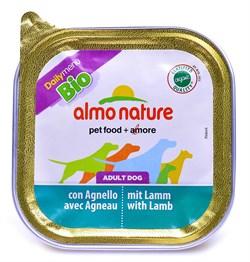 Паштет ALMO NATURE Bio Pate Lamb для взрослых собак с ягненком - фото 10188