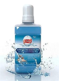 Жидкая зубная щетка Cliny для собак и кошек 300 мл - фото 10292