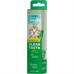 Гель для чистки зубов Tropiclean Свежее Дыхание для кошек 59 мл - фото 10448