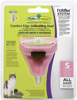 FURminator FURflex насадка против линьки S, для маленьких кошек - фото 10503