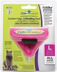 FURminator FURflex насадка против линьки L для больших кошек - фото 10505