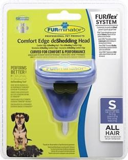 FURminator FURflex насадка против линьки S, для собак мелких пород - фото 10507