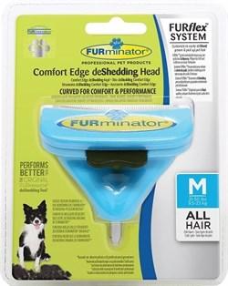FURminator FURflex насадка против линьки M, для собак средних пород - фото 10509
