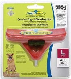 FURminator FURflex насадка против линьки L, для собак крупных пород - фото 10511