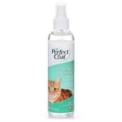 Шампунь для кошек без смывания 8in1 Perfect Coat Waterless Shampoo с ароматом свежести спрей 236 мл - фото 10567
