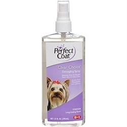 8in1 средство для собак Perfect Coat Clear Choice для облегчения расчесывания с ароматом свежести спрей 295 мл - фото 10587