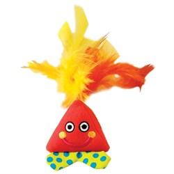Игрушка Petstages для кошек - Мягкая игрушка с перьями - фото 10646