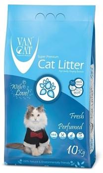 Комкующийся наполнитель VAN CAT Fresh весенняя свежесть без пыли