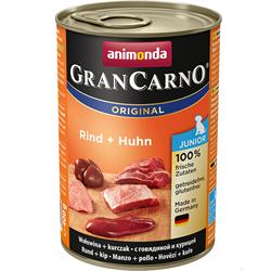 Консервы ANIMONDA GranCarno Original Junior для щенков с говядиной и курицей - фото 10712