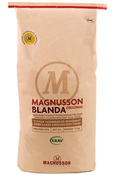 Сухой корм MAGNUSSON Original Blanda для взрослых собак – основа для натурального питания - фото 10741