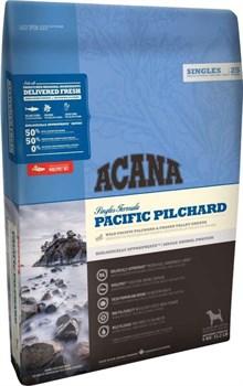 Беззерновой сухой корм ACANA Singles PACIFIC PILCHARD для собак с чувствительным пищеварением с тихоокеанской сардиной - фото 10752