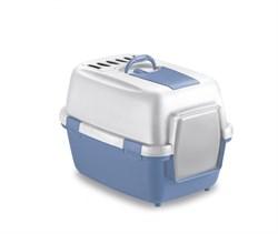 Туалет закрытый Stefanplast WivaCat, 55*40*40 см с угольным фильтром и совочком - фото 10800