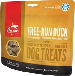 Лакомство Orijen Free-Run Duck для щенков и собак с уткой - фото 11019