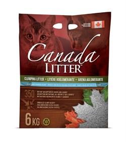 Канадский комкующийся наполнитель Canada Litter Запах на Замке с ароматом детской присыпки (Scoopable Litter) - фото 11099