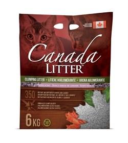 Канадский комкующийся наполнитель Canada Litter Запах на Замке с ароматом лаванды (Scoopable Litter)