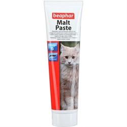 Мальт-паста Beaphar для вывода шерсти для кошек - фото 11111