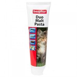 Двойная мальт-паста Beaphar DUO для вывода шерсти для кошек 100 гр - фото 11113